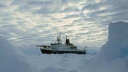 Für 350 Tage im Eis der Arktis eingefroren