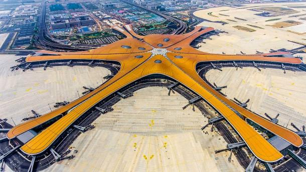 Pekings neuer Mega-Flughafen ist fertig