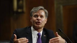 Senat bestätigt neuen FBI-Direktor