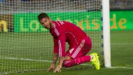 Am Boden: Real Madrids Sergio Ramos