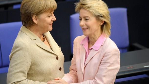 Zeitung: Merkel aeussert Zweifel an Zuschussrente