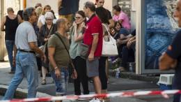 Genuas Einwohner wütend und verzweifelt