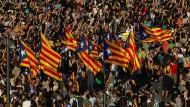 Katalonien will seine Unabhängigkeit erklären