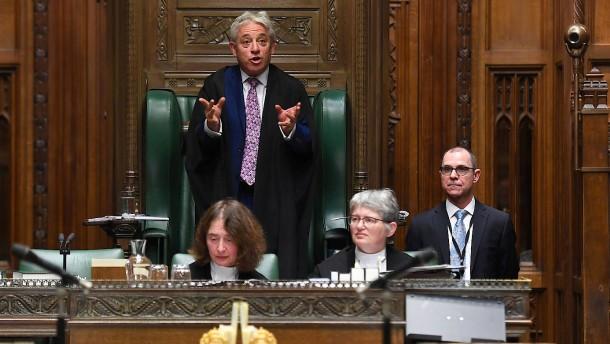 """Wer wird neuer """"Speaker"""" des britischen Unterhauses?"""