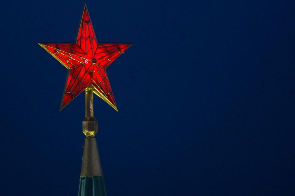 Noch immer wacht er auf dem Kreml in Moskau: der Rote Stern