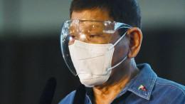 Duterte bereitet seine Verteidigung vor