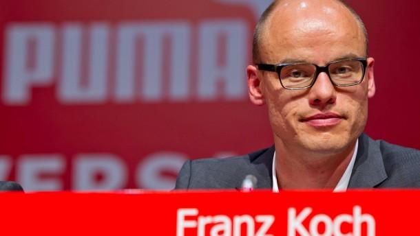 Franz Koch verlässt Puma