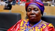 Nkosazana Dlamini-Zuma am Sonntag auf dem AU-Gipfel in Addis Abeba