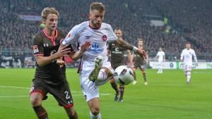 St. Pauli kommt gegen Nürnberg nicht voran