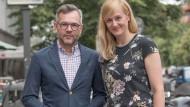 Michael Roth und Christina Kampmann am Freitag in Berlin