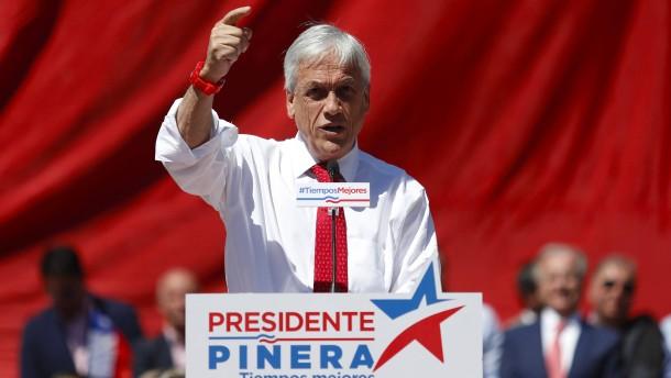 Ex-Staatschef Piñera liegt in Führung