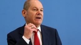 Finanzminister Scholz fordert mehr Optimismus