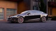 In drei Sekunden von 0 auf 100: Der Tesla S P85D ist Limousine und Supersportler in einem.