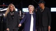 Superstars Beyoncé und Jay Z werben für Hillary Clinton