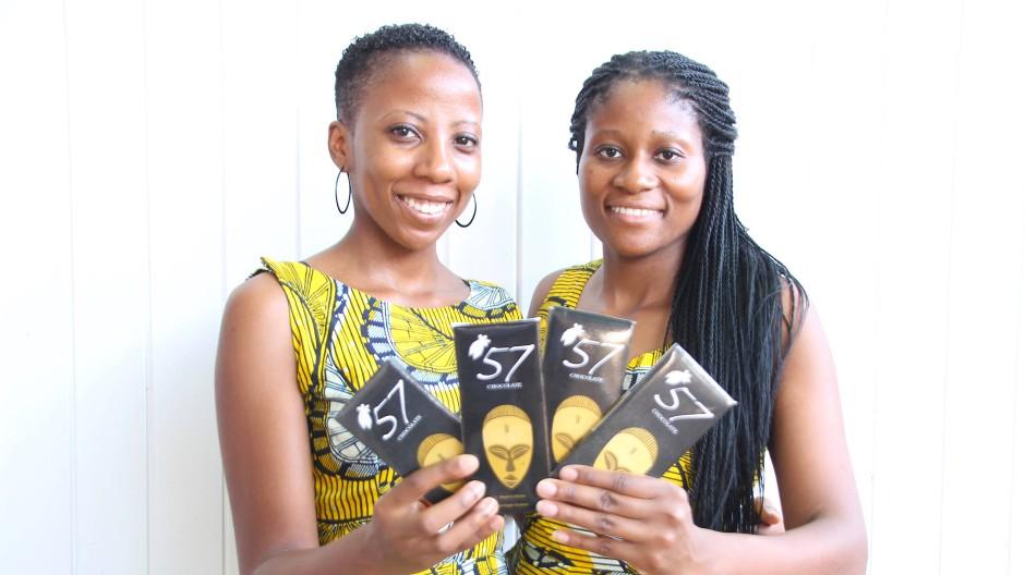 Gründerinnen: Kimberly (links) und Priscilla Addison.