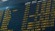 Lufthansa-Piloten streiken zum Wochenstart