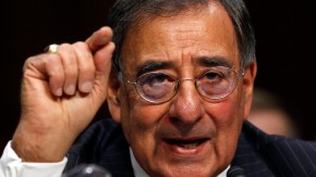 File photograph of U.S. Secretary of Defense Panetta speaking in Washington