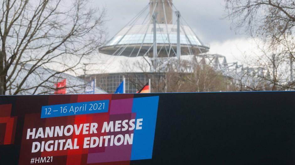 Die Hannover Messe findet in diesem Jahr vor allem digital statt.