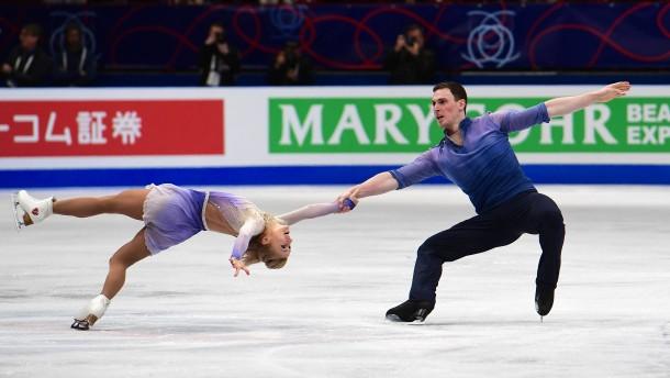 Gold-Double für Aljona Savchenko und Bruno Massot