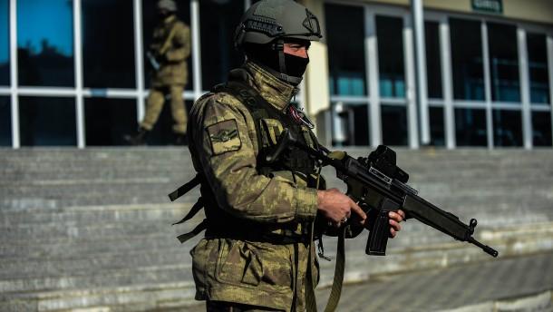 Regierung verhindert Rüstungsexporte in die Türkei