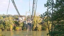 15-Jährige stirbt bei Brückeneinsturz in Frankreich
