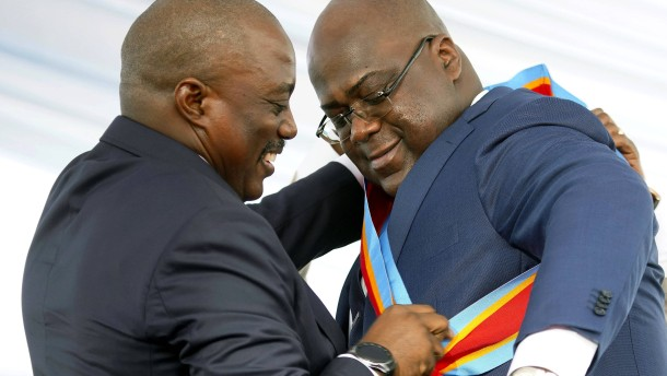Kabilas Marionette kappt die Fäden