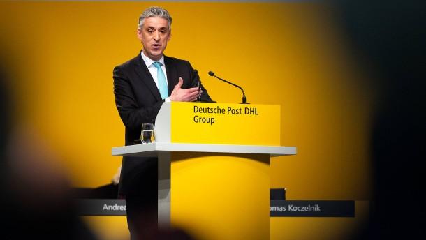 Deutsche Post setzt sich ambitionierte Gewinnziele