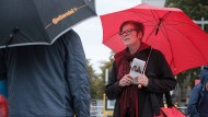 Keine Ruhe: Anja Stoeck, die Spitzenkandidatin der Linken