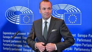 Weber schlägt Umsiedlungsprogramm für Flüchtlinge vor