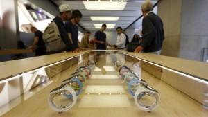 Apple geizt mit Details zur neuen Uhr