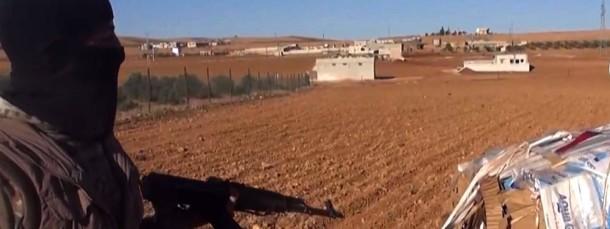 Ein IS-Kämpfer in Syrien