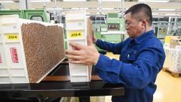 Chinas Industrie wächst weiter