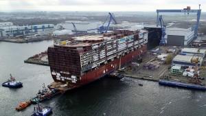 Schiffbruch an der Ostsee