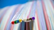 Der Stoff, aus dem schnelles Internet wird: Glasfaserkabel