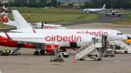 Air Berlin ist pleite