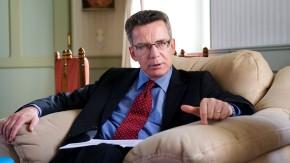 Thomas de Maizière - der Bundesminister für besondere Aufgaben und Chef des Bundeskanzleramts im Gespräch