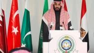 Saudi-Arabiens Vize-Kronprinz, Mohammed bin Salman, soll ein Sparprogramm vor Beamten, Ökonomen und Unternehmern vorgestellt haben.
