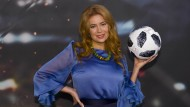 Palina Rojinski ist als Russland-Expertin der ARD bei der Weltmeisterschaft dabei.