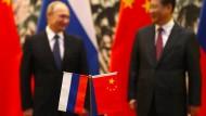 Verstehen sich offenbar gut: Russlands Präsident Wladimir Putin und Chinas Staatschef Xi Jinping Anfang November in Peking