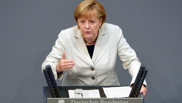 """Kanzlerin Merkel: """"Haben super gearbeitet"""""""