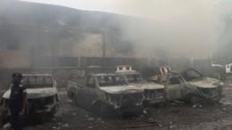 Lagerhalle samt Wahlurnen abgebrannt