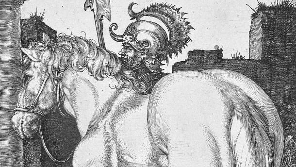 """Was hat es mit Dürers Kupferstich """"Großes Pferd"""" auf sich?"""