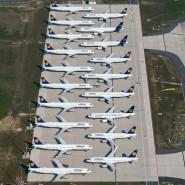 Krisenmodus: Die Lufthansa musste im Lockdown Maschinen abstellen – und flog zudem aus dem Dax.