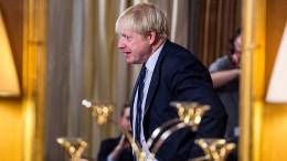 Johnson sagt Treffen mit No-Deal-Gegnern aus eigenen Reihen ab