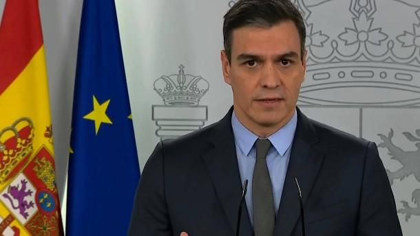 Spanien schränkt Bewegungsfreiheit weiter ein