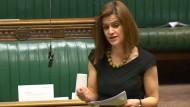 Jo Cox bei einer Rede im britischen Unterhaus