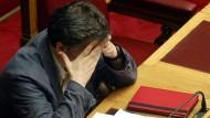 Ringen um Reformen im griechischen Parlament