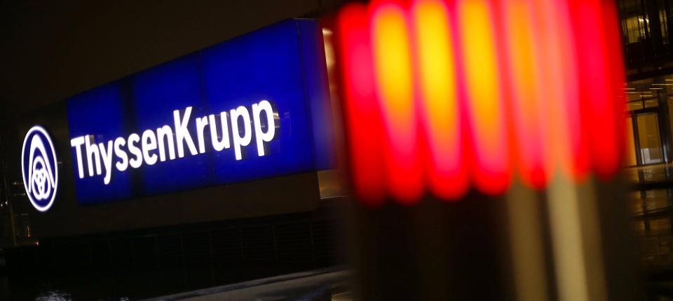 Bei Thyssen-Krupp reduziert Cevian den Druck aus dem Stahlkessel