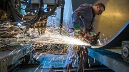 Deutsche Wirtschaft bricht in Rekordtempo ein