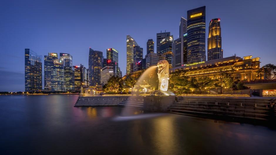 Blick auf Singapur: Ein Dienstmädchen, das in der Stadt arbeitete, wurde zu einer Haftstrafe verurteilt.